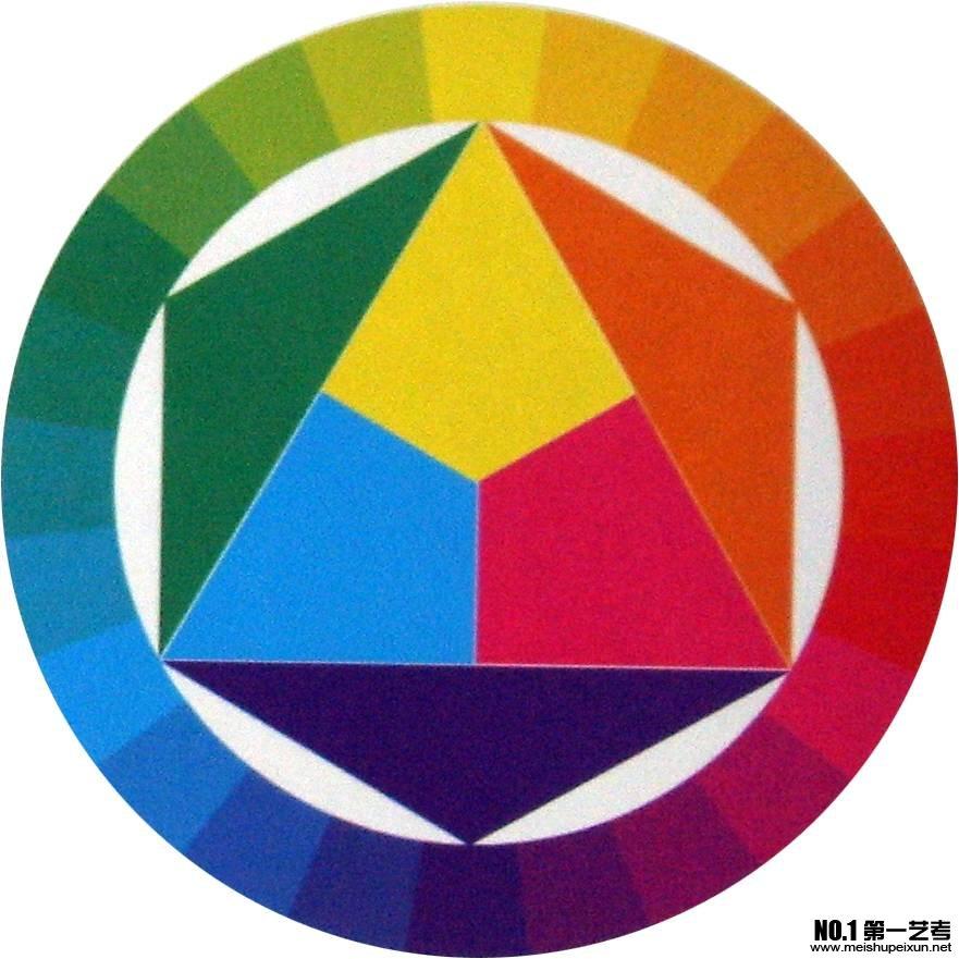 青岛高考美术培训之色彩学习经验谈(色相对比)